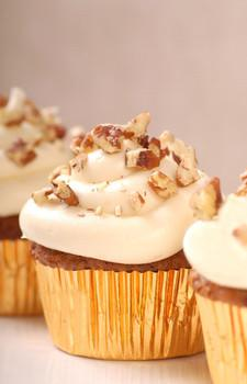 Recipe for Carrot Cake Cupcakes with Cream Cheese Frosting ...