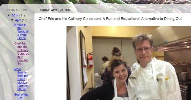 Edible Skinny: Chef Eric and his Culinary Classroom