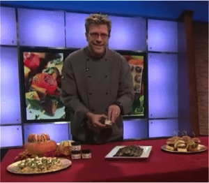 Chef Eric uses his Sizzle and Smooth spice blends to spice up his tailgate snacks for football season on KTLA.