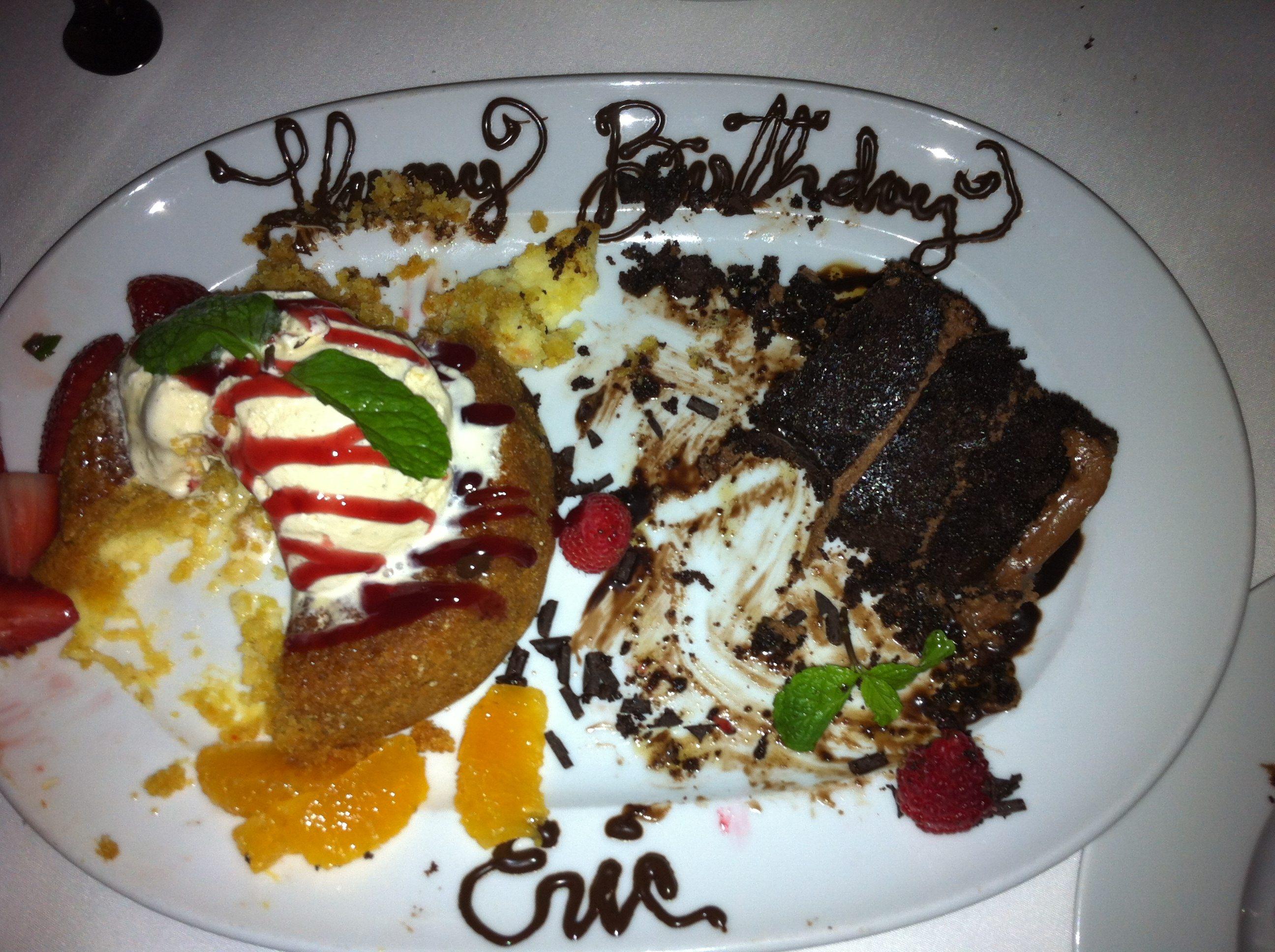 Happy Birthday Eric Chocolate Cake