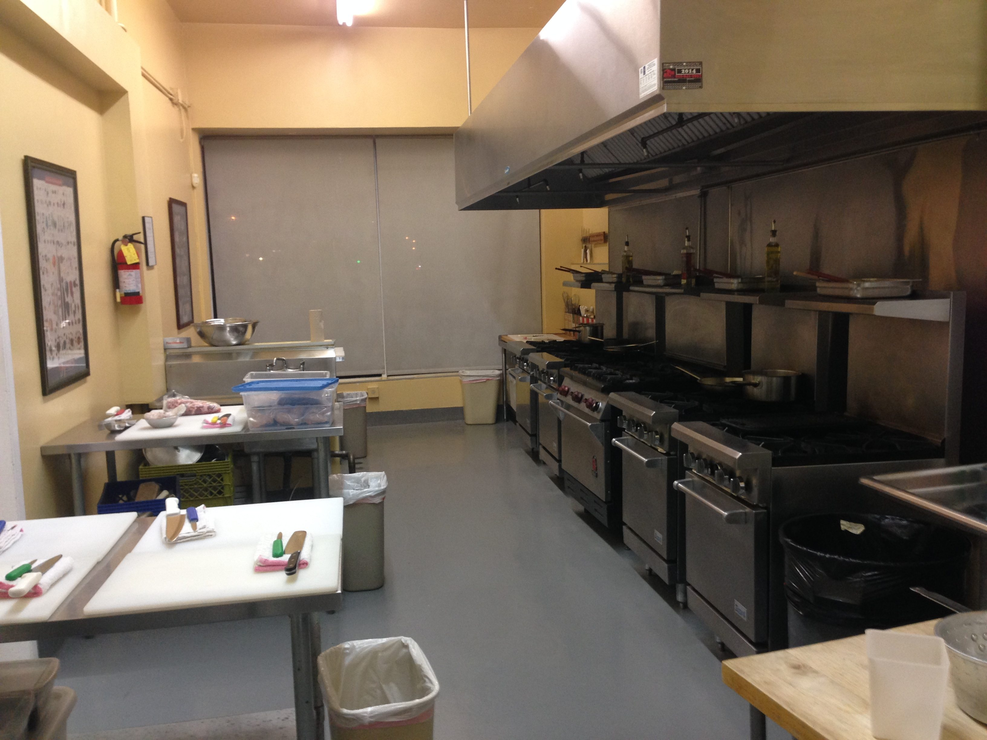 Chef Eric's Culinary Classroom Filming Location