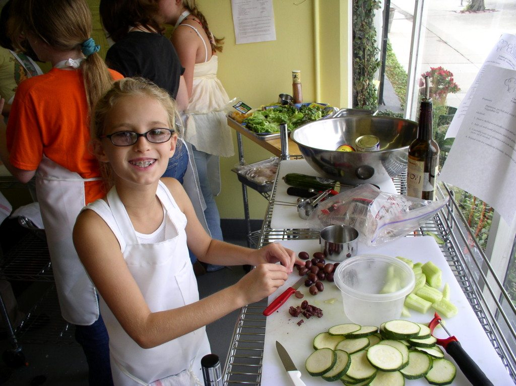 kids summer cooking camp los angeles
