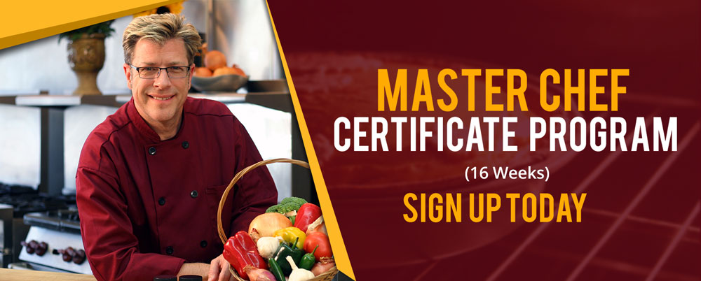 Master Chef Certificate Program | Culinary Cooking Classes