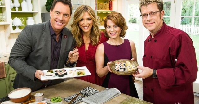 How to Make Sushi: Filling Up with Fuller House Star Candace Cameron Bure