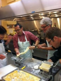 "Mama Mia!  ""Think Outside the Box"" in our Homemade Pasta Class!"