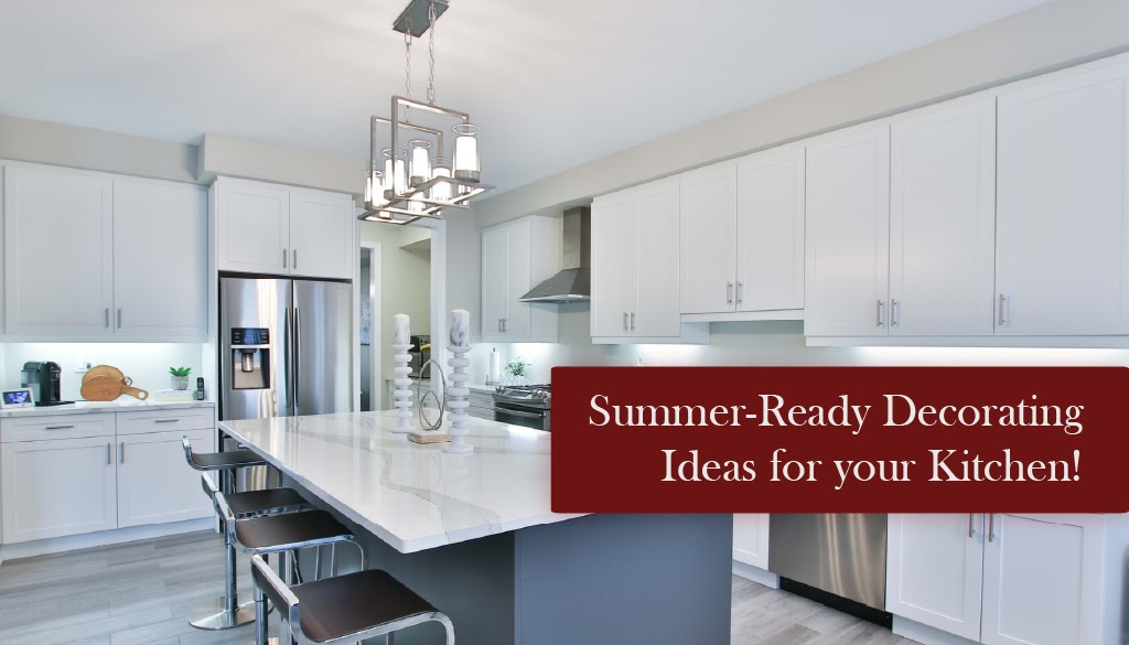 Summer-Ready Decorating Ideas: Bring the sunshine inside your kitchen with our list of summer-ready decorating ideas.